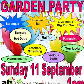 Charity Garden Party on 11th September